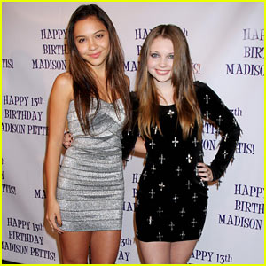 Sammi Hanratty & Stella Hudgens: Happy Birthday Madison!