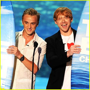 Tom Felton &#038; Rupert Grint: Teen Choice Award Winners!