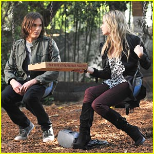Ashley Benson &#038; Tyler Blackburn: Swinging Sweeties