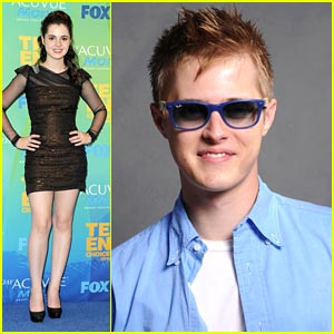 Vanessa Marano & Lucas Grabeel -- Teen Choice Awards 2011
