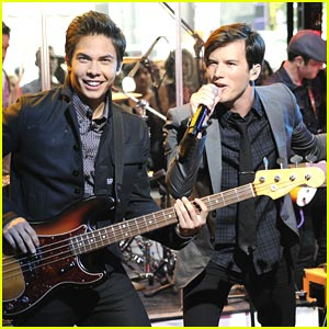 Allstar Weekend Rocks 'Good Morning America'
