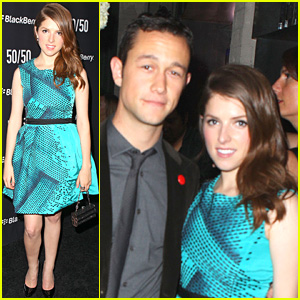 Anna Kendrick: Teal Dress At TIFF