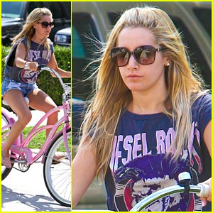 Ashley Tisdale: 'Unbroken' Is My Jam!