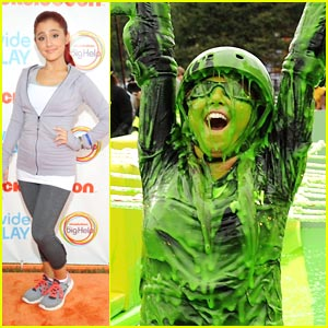 Daniella Monet Gets 'Slimed' for Worldwide Day of Play!