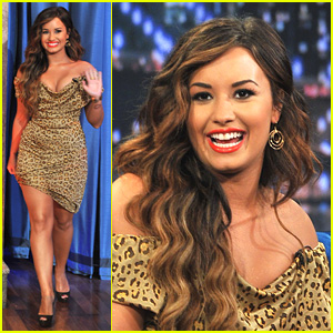 Demi Lovato: 'Late Night With Jimmy Fallon' Appearance!