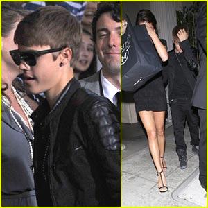 Justin Bieber & Selena Gomez: Mastro's Meal