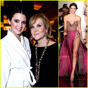 Kendall Jenner: 'An Evening By Sherri Hill' Model!