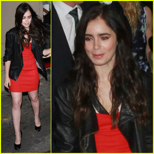 Lily Collins: Julia Roberts Pulled My Hair Out!