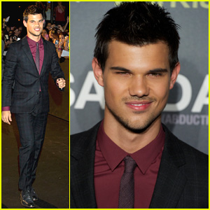 Taylor Lautner: I'm A Huge Fan of Cheryl Cole