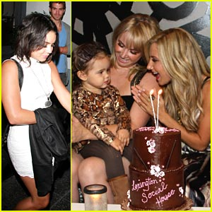 Vanessa Hudgens &#038; Ashley Tisdale: Happy Birthday, Jennifer!