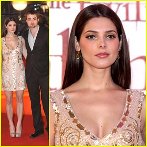 Ashley Greene: 'Breaking Dawn' in Brussels with Robert Pattinson!