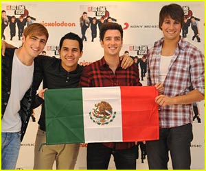 Big Time Rush Go Gold in Mexico!