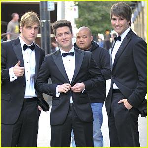 Kendall, James & Logan: Tuxedo Trio