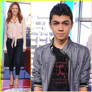Brittany Snow 'StopBullying' with Adam Irigoyen