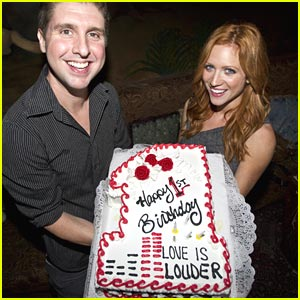Brittany Snow: Love is Louder Anniversary Party!
