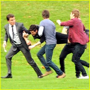 Big Time Rush: Filming 'Big Time Movie'