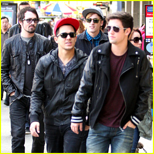 Big Time Rush Ventures Out In Vancouver