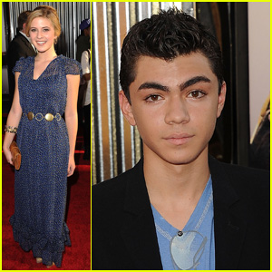 Caroline Sunshine &#038; Adam Irigoyen: 'Real Steel' Premiere Pals