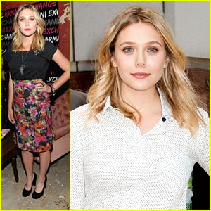 Elizabeth Olsen: Nylon Dinner Party Pretty