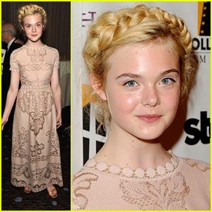 Elle Fanning: Hollywood Film Awards 2011