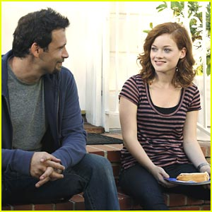 Jane Levy: 'Suburgatory' Barbeque