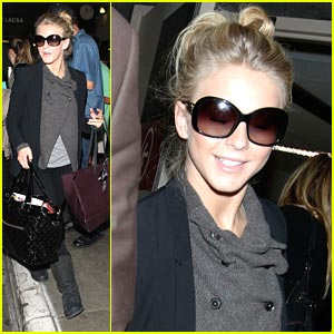 Julianne Hough: From London To LAX