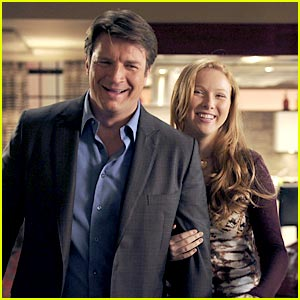 Molly Quinn Plays 'Cops & Robbers' on 'Castle'