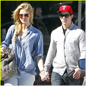 Nick Jonas & Delta Goodrem Lunch at Good Neighbor