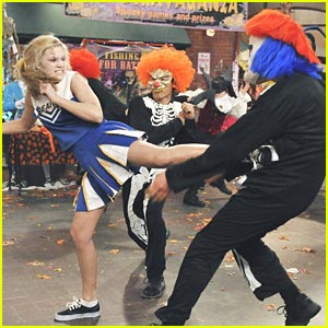 Olivia Holt is 'Kickin It' Like Buffy