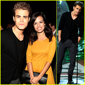 Paul Wesley: Scream Awards 2011 with Torrey Devito!