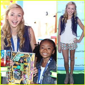 Peyton List &#038; Skai Jackson: Party on the Pier Pair!