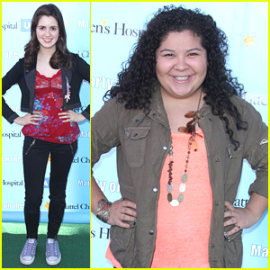 Raini Rodriguez & Laura Marano Party on the Pier Pair