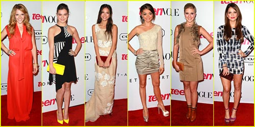 2011 Teen Vogue Young Hollywood Party -- Best Dressed Poll!