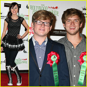 Allisyn Arm: Hollywood Christmas Parade With Chris & Doug Brochu!