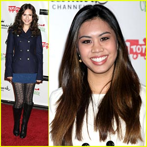 Ashley Argota &#038; Erin Sanders: Hollywood Christmas Cuties