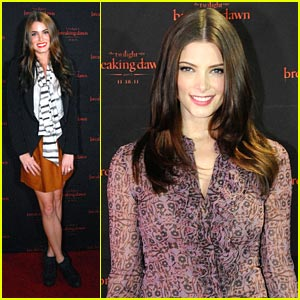 Ashley Greene &#038; Nikki Reed: Twilight Tour in Atlanta!