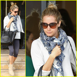 Ashley Tisdale: Barneys Babe in Beverly Hills