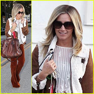 Ashley Tisdale: 'Raising Hope' Guest Star!