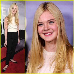 Elle Fanning: 'Super 8' DVD Party!