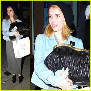 Emma Roberts: Magnolia Bakery Beauty