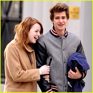 Emma Stone & Andrew Garfield: East Village Walkers