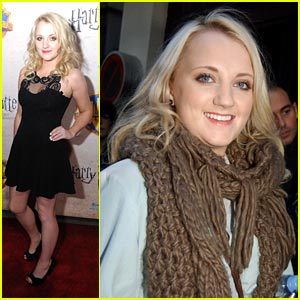Evanna Lynch is Pretty in Paris