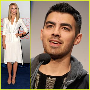 Joe Jonas & Julianne Hough Announce People's Choice Awards 2012!
