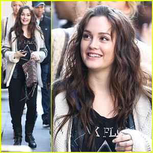 Leighton Meester: Gossip Girl in the City