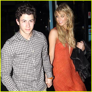Nick Jonas: Dinner with Delta Goodrem
