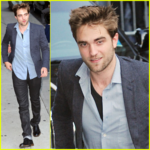 Robert Pattinson: 'It's Quite Easy to Play a Father On Film'