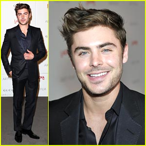 Zac Efron: LACMA Gala Guy