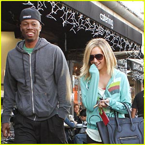 Ashley Tisdale: Lunch with Robbie Jones!
