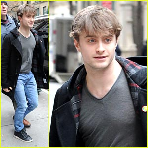 Daniel Radcliffe: Final Week in 'How To Succeed'!