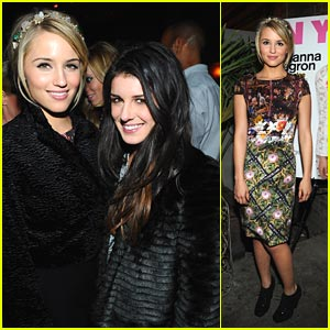 Dianna Agron: Nylon Party Pretty